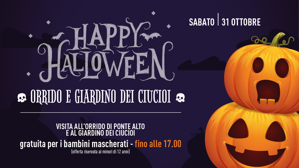 HALLOWEEN ALL'ECOMUSEO!